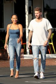 Christina Milian and Matt Pokora at Fred Segal in West Hollywood 2018/10/25 1