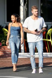 Christina Milian and Matt Pokora at Fred Segal in West Hollywood 2018/10/25 2