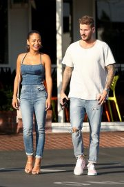 Christina Milian and Matt Pokora at Fred Segal in West Hollywood 2018/10/25 7