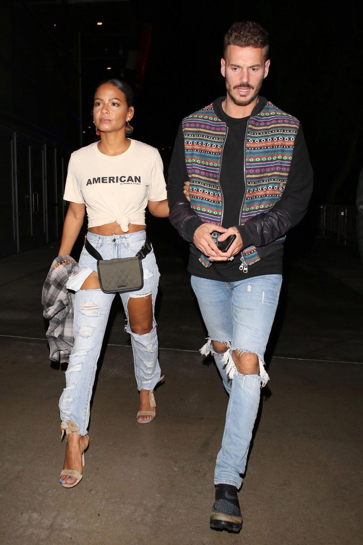 Christina Milian at Drake and Migo's After-party in West Hollywood 2018/10/14 1