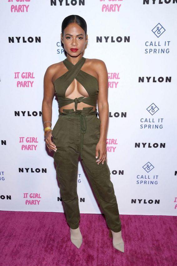 Christina Milian at Nylon's Annual IT Girl Party in Los Angeles 2018/10/11 1