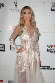 Christine McGuinness at Manchester Fashion Festival at Midland Hotel 2018/10/13 1