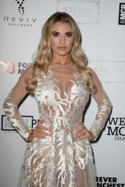 Christine McGuinness at Manchester Fashion Festival at Midland Hotel 2018/10/13 2