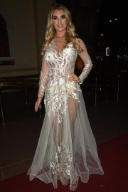 Christine McGuinness at Manchester Fashion Festival at Midland Hotel 2018/10/13 3