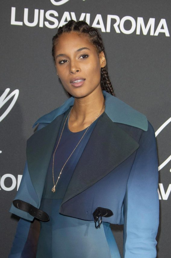Cindy Bruna at CR Fashion Book Issue 13 Launch in Paris 2018/10/01 1