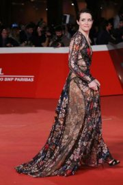 Claire Foy at The Girl in the Spider's Web' Premiere at Rome Film Fest 2018/10/24 2