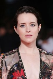 Claire Foy at The Girl in the Spider's Web' Premiere at Rome Film Fest 2018/10/24 4
