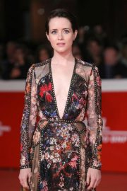 Claire Foy at The Girl in the Spider's Web' Premiere at Rome Film Fest 2018/10/24 6