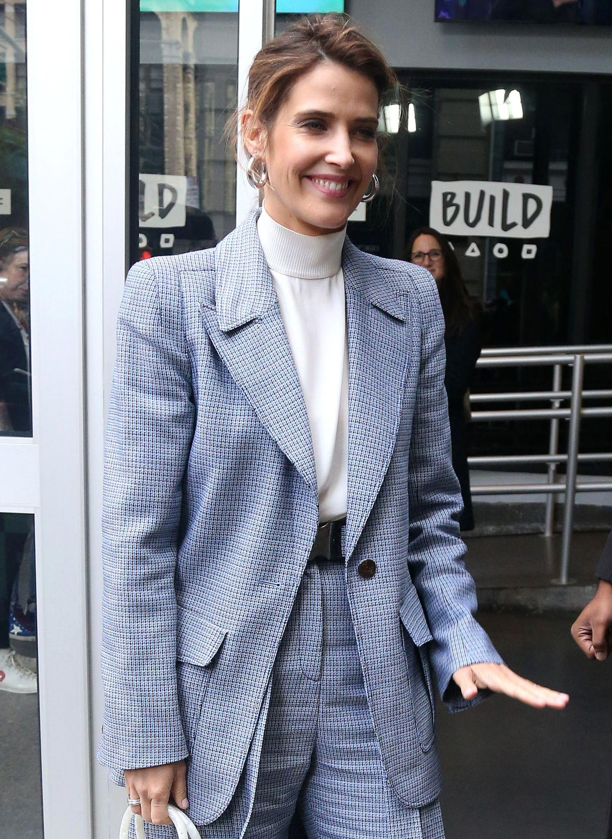 Cobie Smulders at AOL Building in New York 2018/10/24 1