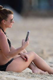 Coleen Rooney in Bikini on the Beach in Barbados 2018/10/24 4