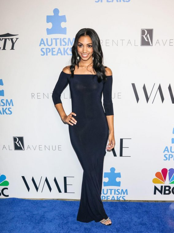 Corinne Foxx at Into the Blue Gala in Los Angeles 2018/10/04 1
