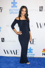 Corinne Foxx at Into the Blue Gala in Los Angeles 2018/10/04 2