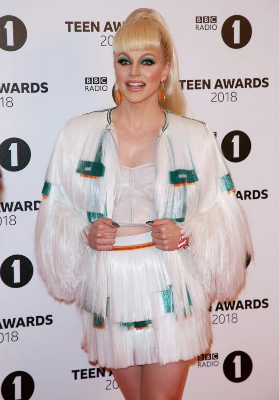 Courtney Act at BBC Radio 1 Teen Awards in London 2018/10/21 1