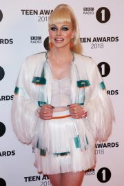 Courtney Act at BBC Radio 1 Teen Awards in London 2018/10/21 2