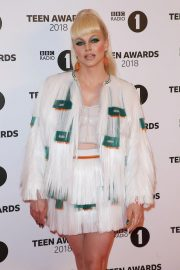 Courtney Act at BBC Radio 1 Teen Awards in London 2018/10/21 4