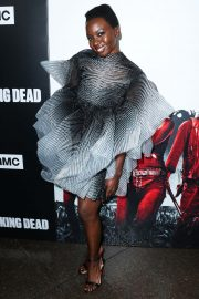 Danai Gurira at The Walking Dead Premiere Party in Los Angeles 2018/09/27 2