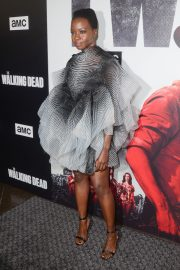Danai Gurira at The Walking Dead Premiere Party in Los Angeles 2018/09/27 9