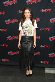 Danielle Campbell at Tell Me A Story Premiere at New York Comic-con 2018/10/05 4