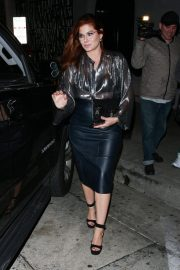 Debra Messing at Craig's in West Hollywood 2018/10/14 1