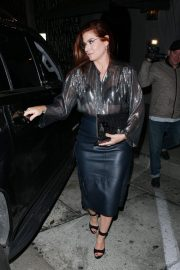 Debra Messing at Craig's in West Hollywood 2018/10/14 3