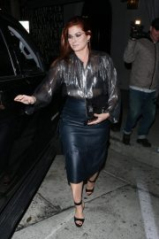 Debra Messing at Craig's in West Hollywood 2018/10/14 4
