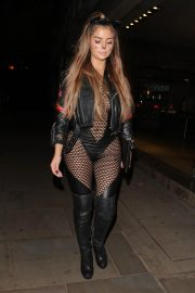Demi Rose Arrives at Halloween Party at Ours in London 2018/10/27 6