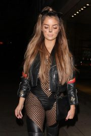 Demi Rose Arrives at Halloween Party at Ours in London 2018/10/27 7