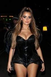 Demi Rose Arrives at Kiss Haunted House Party in London 2018/10/26 5