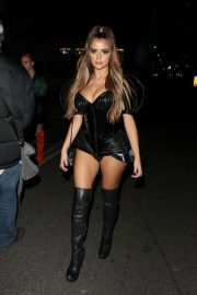 Demi Rose Arrives at Kiss Haunted House Party in London 2018/10/26 6