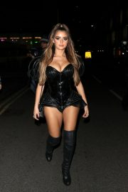 Demi Rose Arrives at Kiss Haunted House Party in London 2018/10/26 10