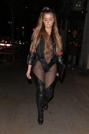 Demi Rose at a Halloween Party in London 2018/10/27 1