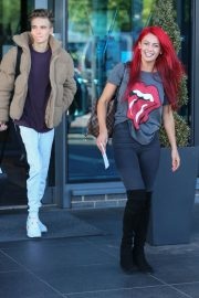 Dianne Buswell Heading to Strictly Come Dancing in London 2018/09/29 3