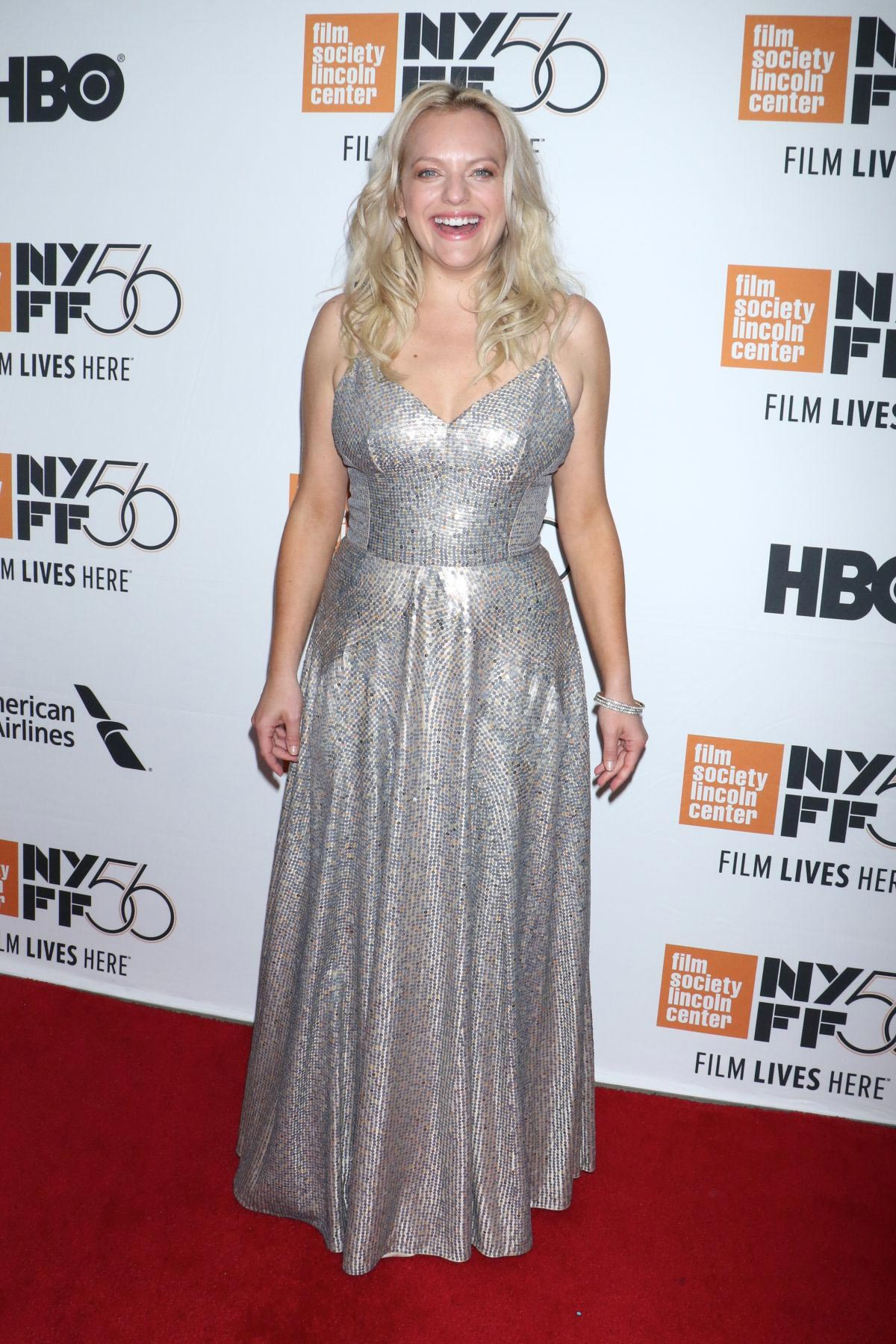 Elisabeth Moss at Her Smell Premiere at New York Film Festival 2018/09/29 1