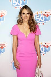 Elizabeth Hurley at Kinder Chocolate 50th Anniversary 2018/10/14 2