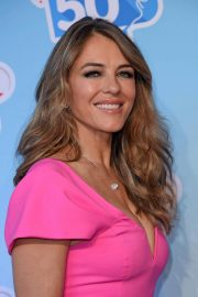 Elizabeth Hurley at Kinder Chocolate 50th Anniversary 2018/10/14 6