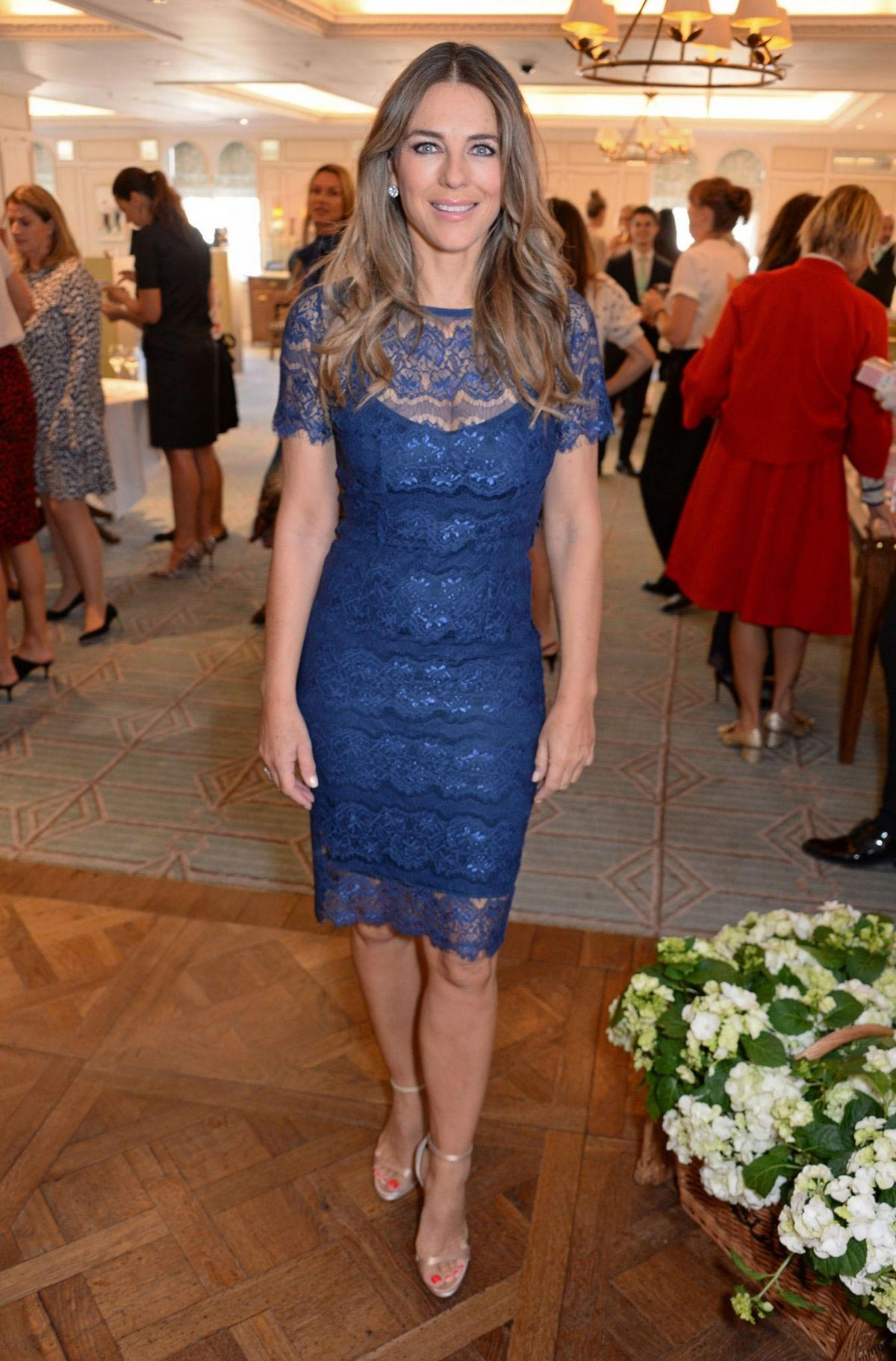 Elizabeth Hurley at Lady Garden Lunch in Support of Silent No More Gynaecological Cancer Fund in London 2018/09/27 1