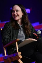 Ellen Page at Netflix & Chills Panel at New York Comic-con 2018/10/05 1