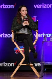 Ellen Page at Netflix & Chills Panel at New York Comic-con 2018/10/05 2