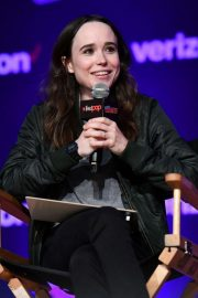 Ellen Page at Netflix & Chills Panel at New York Comic-con 2018/10/05 3