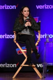 Ellen Page at Netflix & Chills Panel at New York Comic-con 2018/10/05 4