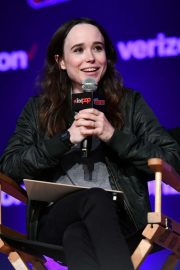 Ellen Page at Netflix & Chills Panel at New York Comic-con 2018/10/05 6