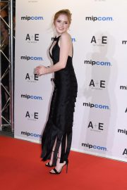 Ellie Bamber at 2018 MIPCOM Opening in Cannes 2018/10/15 2
