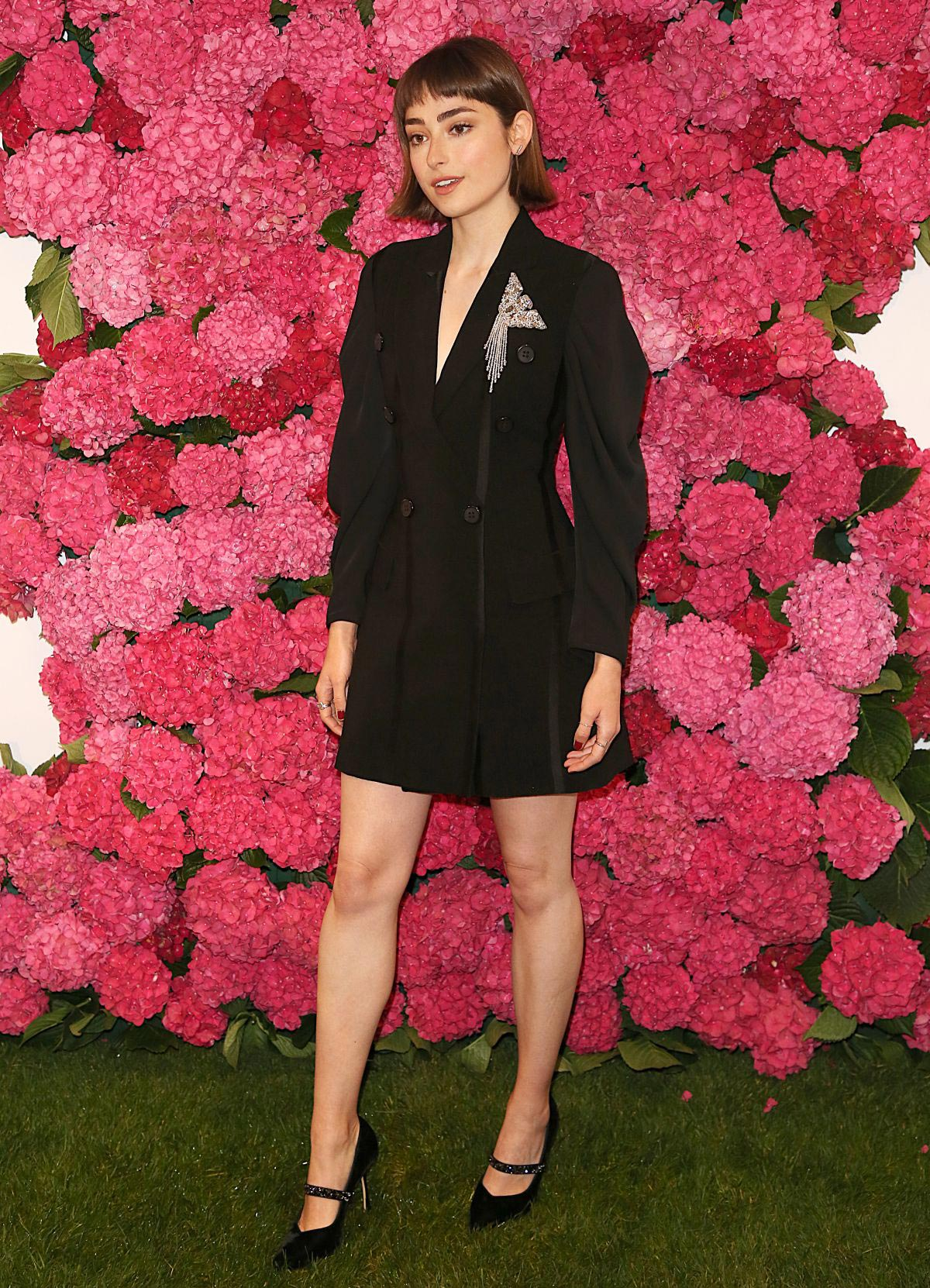 Ellise Chappell At Remembering Audrey Hepburn Photocall In London