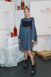 Elsa Hosk at Moet & Chandon and Virgil Abloh New Bottle Collaboration Launch in New York 2018/10/16 1