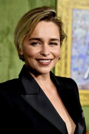 Emilia Clarke at My Dinner with Herve Premiere in Hollywood 2018/10/04 10