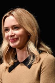 Emily Blunt at A Quiet Place Press Conference at Scad Savannah Film Festival 2018/10/27 1