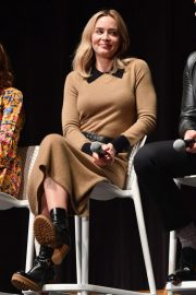 Emily Blunt at A Quiet Place Press Conference at Scad Savannah Film Festival 2018/10/27 2