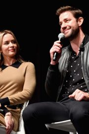 Emily Blunt at A Quiet Place Press Conference at Scad Savannah Film Festival 2018/10/27 3