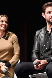 Emily Blunt at A Quiet Place Press Conference at Scad Savannah Film Festival 2018/10/27 4