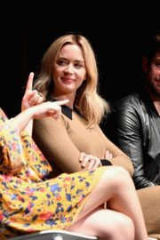 Emily Blunt at A Quiet Place Press Conference at Scad Savannah Film Festival 2018/10/27 5